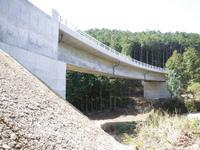 西間上町地区交通安全統合補助(簑野橋上部工)工事