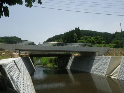 二重峠菊池線防災・安全交付金(第二松島橋上部工)工事