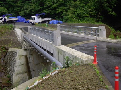 町道畑内牧線(岩戸橋)災害復旧工事